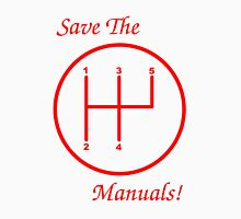 Save The Manuals! 5 Gear No. 2 Unisex T-Shirt