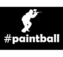 #Paintball Photographic Print