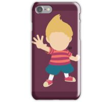 Lucas (Red) - Super Smash Bros. iPhone Case/Skin