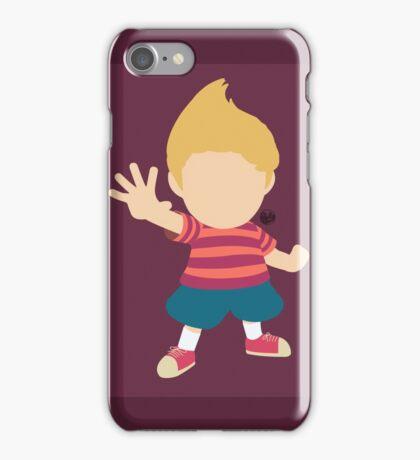 Lucas (Red) - Super Smash Bros. iPhone Case/Skin