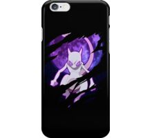 pokemon mewtwo anime manga shirt iPhone Case/Skin