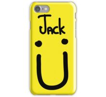 Jack U black iPhone Case/Skin