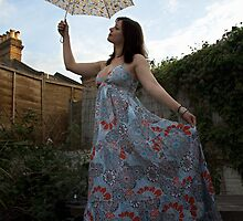 Mary Poppins... in a summer dress! by Michael Marten