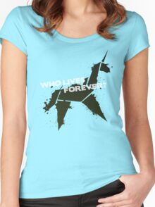 Who Lives Forever Women's Fitted Scoop T-Shirt
