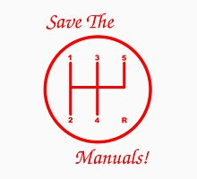 Save The Manuals! 5 Gear No. 4 Unisex T-Shirt