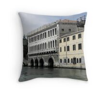 Venetian Architecture Throw Pillow