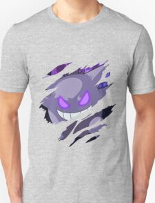 pokemon gengar anime manga shirt T-Shirt