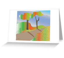 Autumn stillness Greeting Card