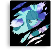 pokemon glaceon anime manga shirt Canvas Print
