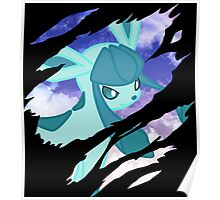 pokemon glaceon anime manga shirt Poster