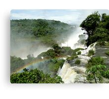 Rainbow over Iguazu Canvas Print