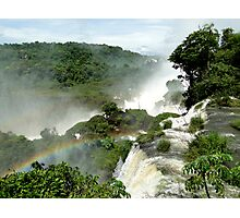 Rainbow over Iguazu Photographic Print