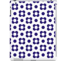 Daisy Dot Blue iPad Case/Skin