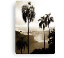 Iguazu palms Canvas Print