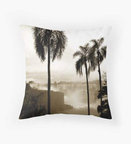 Iguazu palms Throw Pillow