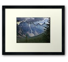 Valley of the Ten Peaks Framed Print