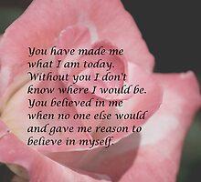 You Believed in Me by DebbieCHayes