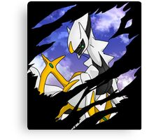 pokemon arceus anime manga shirt Canvas Print
