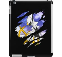 pokemon arceus anime manga shirt iPad Case/Skin
