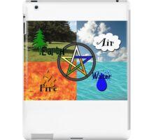 Earth,Air,Fire,Water iPad Case/Skin