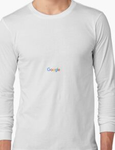 Google Simplistic Long Sleeve T-Shirt