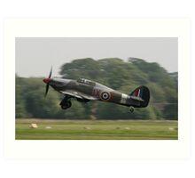 Hawker Hurricane IIC Art Print