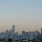 Melbourne Sunset by Joan Wild