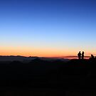 Mt. Sinai Silhouettes by waltzink