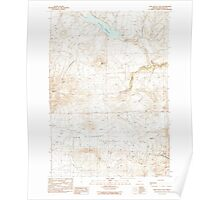 USGS Topo Map Oregon Cow Valley East 279465 1990 24000 Poster