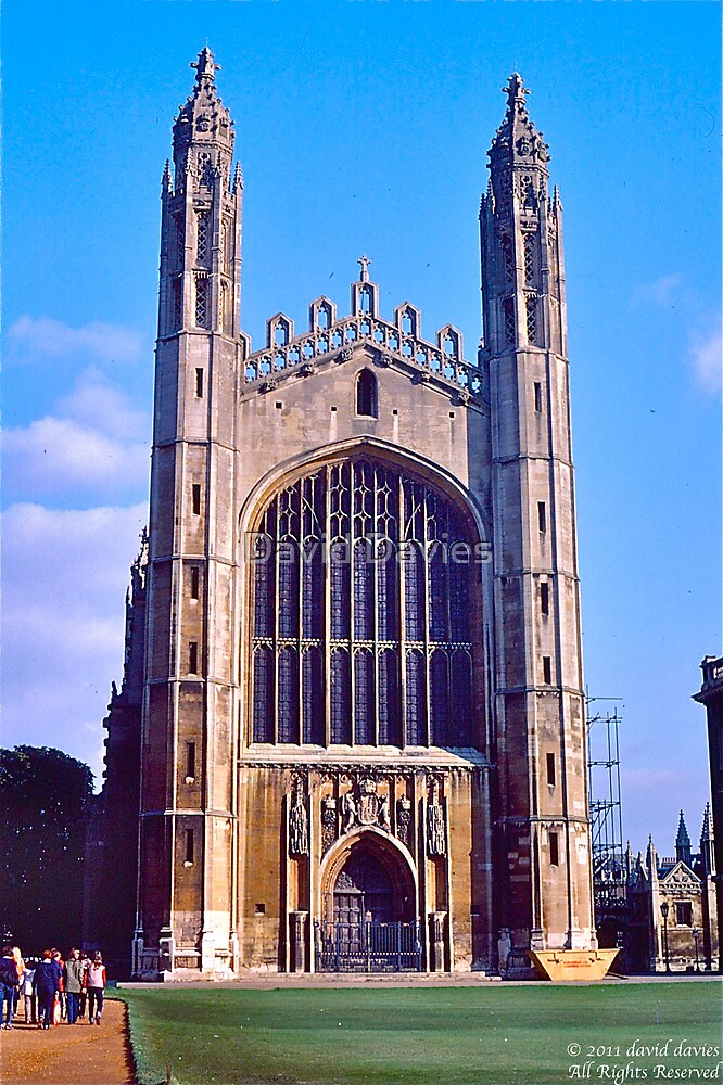Chapel of King's College, Cambridge by David Davies