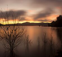 Early morning at Lake Hume by Timo Balk