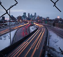 Minneapolis Cityscape by Jason Hedlund