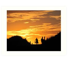 Late Afternoon Surf Art Print