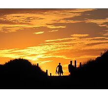 Late Afternoon Surf Photographic Print