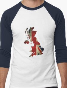 Great Britain - England Men's Baseball ¾ T-Shirt