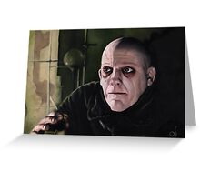 Uncle Fester Greeting Card