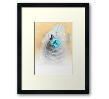The White King-Rook's Pawn Framed Print