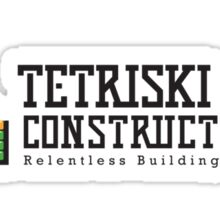 Tetriski & Sons Construction Sticker