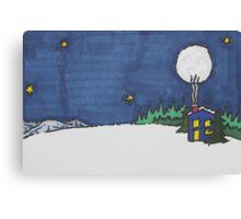 Warming Hut Canvas Print