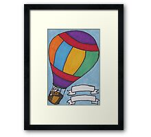 Birthday Balloon Framed Print