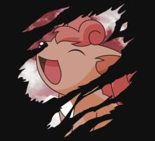 pokemon vulpix anime manga shirt by ToDum2Lov3