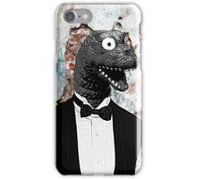 Bow-tie Dinosaur  iPhone Case/Skin