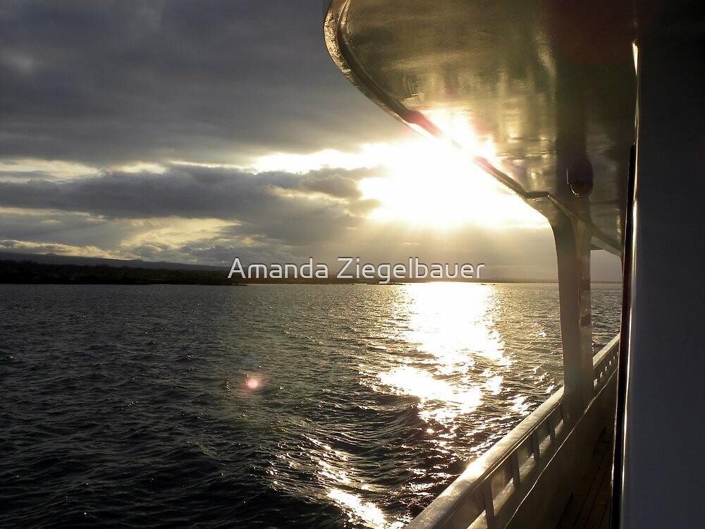 Sailing sun by Amanda Ziegelbauer