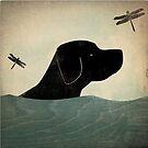Labrador dog by halamadrid