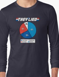 They Lied! Long Sleeve T-Shirt