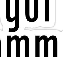 got grammar? Sticker