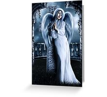 Johnnie's Angel Greeting Card