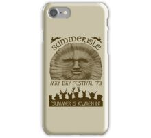 Summerisle May Day Festival 1973 iPhone Case/Skin