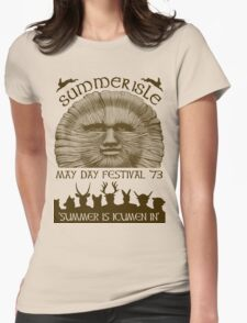 Summerisle May Day Festival 1973 Womens Fitted T-Shirt