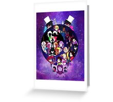 Shonty is Dead! Universe Greeting Card